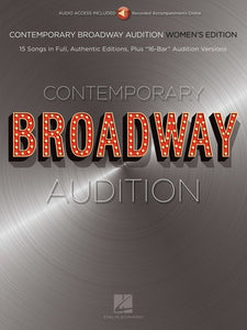 CONTEMPORARY BROADWAY AUDITION WOMEN BK/OLA