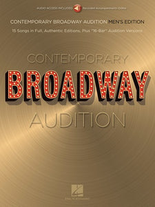CONTEMPORARY BROADWAY AUDITION MEN BK/OLA