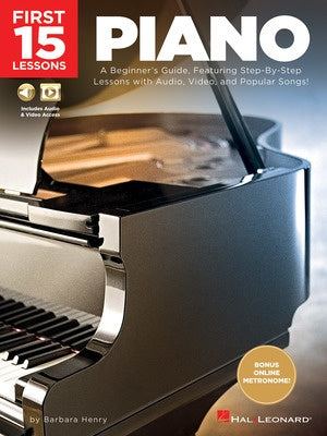 FIRST 15 LESSONS PIANO BK/OLM