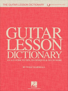 GUITAR LESSON DICTIONARY BK/OLA