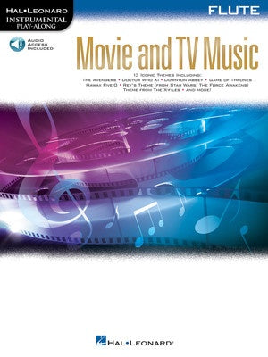 MOVIE AND TV MUSIC FOR FLUTE BK/OLA