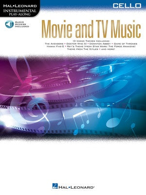 MOVIE AND TV MUSIC FOR CELLO BK/OLA