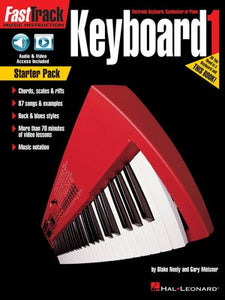 FASTTRACK KEYBOARD BK 1 STARTER PACK BK/OLM