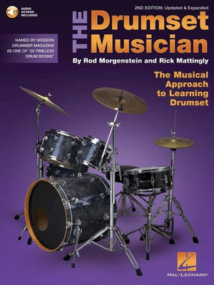 THE DRUMSET MUSICIAN 2ND EDITION BK/OLA