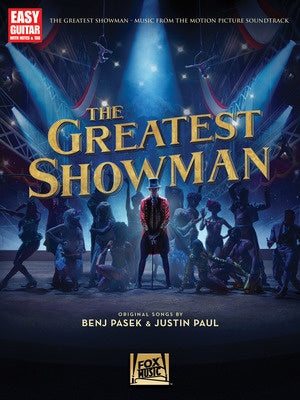 THE GREATEST SHOWMAN EASY GUITAR WITH NOTES & TAB