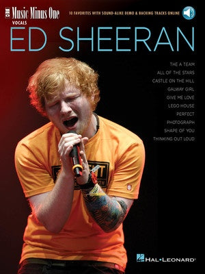 ED SHEERAN MUSIC MINUS ONE BK/OLA