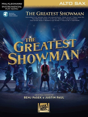THE GREATEST SHOWMAN ALTO SAX BK/OLA