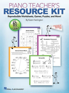 PIANO TEACHERS RESOURCE KIT