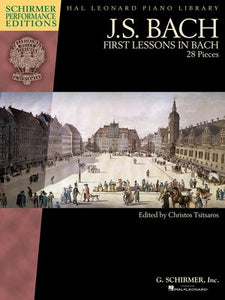 FIRST LESSONS IN BACH BOOK ONLY