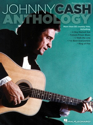 JOHNNY CASH ANTHOLOGY PVG