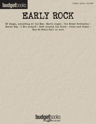 BUDGET BOOKS EARLY ROCK PVG