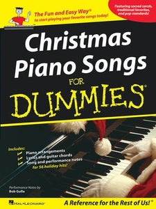 CHRISTMAS PIANO SONGS FOR DUMMIES PVG
