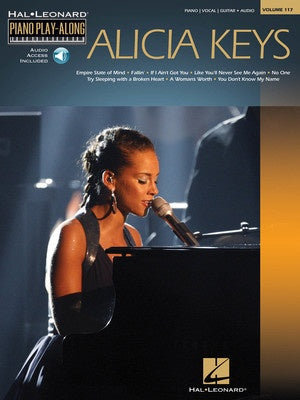 ALICIA KEYS PIANO PLAYALONG V117 BK/OLA