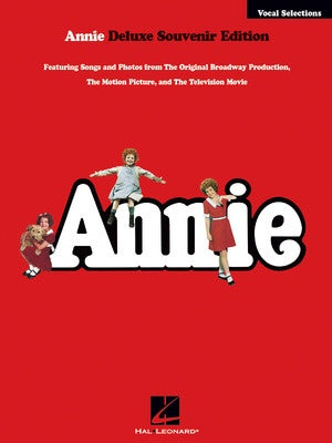 ANNIE VOCAL SELECTIONS DELUXE EDITION PVG