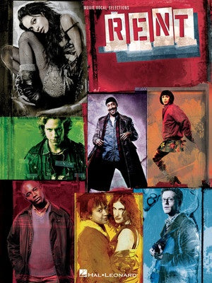 RENT MOVIE VOCAL SELECTIONS PVG