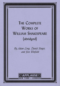 COMPLETE WORKS SHAKESPEARE ABRIDGED (PAPER)