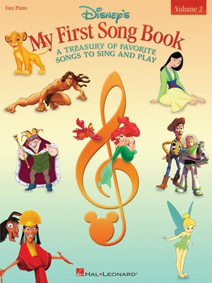 DISNEYS MY FIRST SONGBOOK VOL 2 EASY PIANO