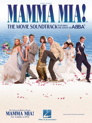 MAMMA MIA! MOVIE SOUNDTRACK EASY PIANO