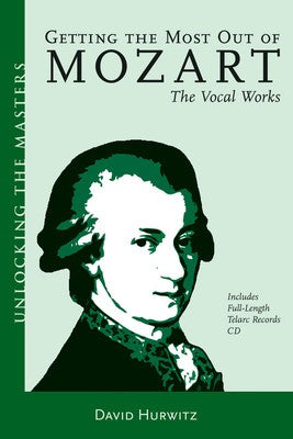 UNLOCKING THE MASTERS BK/2CD MOZART VOCAL
