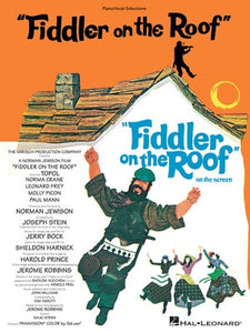 FIDDLER ON THE ROOF VOCAL SELECTIONS PVG