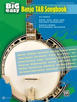 BIG EASY BANJO TAB SONGBOOK