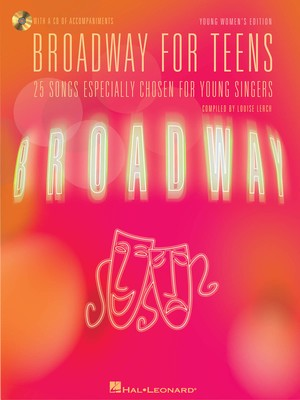 BROADWAY FOR TEENS BK/CD YNG WOMENS