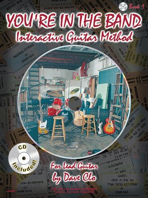 YOURE IN THE BAND INTERACTIVE GUITAR METHOD BK/CD