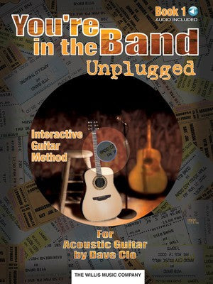 YOURE IN THE BAND ACOUSTIC GUITAR BK 1