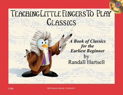 TEACHING LITTLE FINGERS TO PLAY CLASSICS BK/CD
