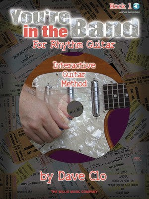 YOURE IN THE BAND RHYTHM GUITAR BK 1