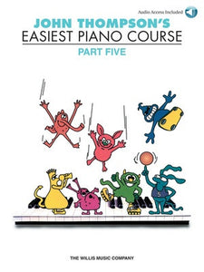 EASIEST PIANO COURSE PART 5 BK/CD