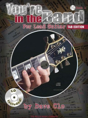 YOURE IN THE BAND LEAD GUITAR BK 1 TAB