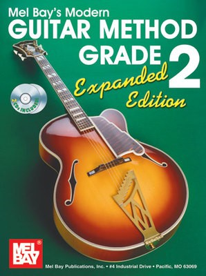 MODERN GUITAR METHOD GR 2 EXPANDED BK/2CD