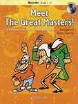 MEET THE GREAT MASTERS RECORDER BK/CD GR 1-2