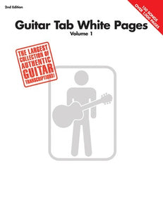 GUITAR TAB WHITE PAGES VOL 1 2ND EDITION