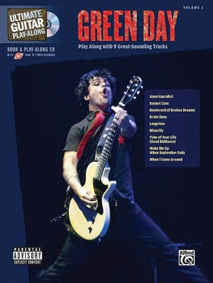 GREEN DAY ULTIMATE GUITAR PLAY ALONG V1 BK/CD