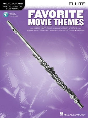 FAVORITE MOVIE THEMES FOR FLUTE BK/OLA