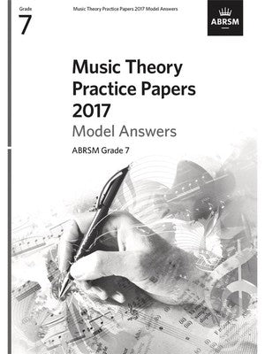 ABRSM MUSIC THEORY PRACTICE PAPERS ANSWERS 2017 GR 7