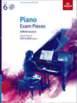 ABRSM PIANO EXAM PIECES 2017-2018 GR 6 BK/CD