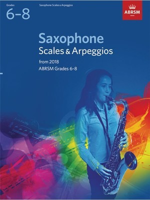 SAX SCALES & ARPS GR 6-8 FROM 2018