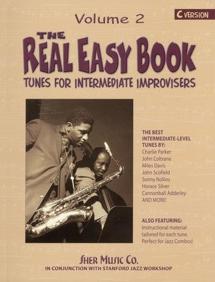 REAL EASY BOOK VOL 2 INTERMED IMPROV C VERS