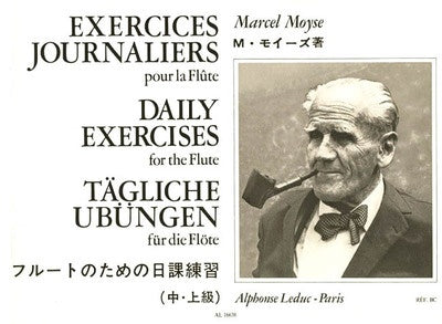 MOYSE - DAILY EXERCISES FOR THE FLUTE