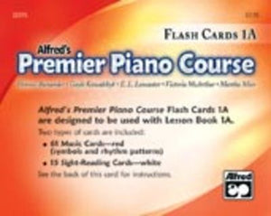 PREMIER PIANO COURSE FLASH CARDS LEVEL 1A