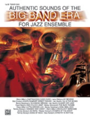 AUTHENTIC SOUNDS OF BIG BAND ERA 1ST TENOR  SAX