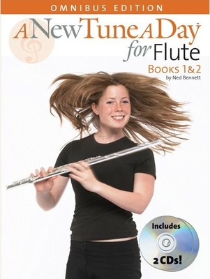 A NEW TUNE A DAY FLUTE BKS 1 & 2 OMNIBUS BK/CD