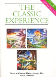 CLASSIC EXPERIENCE VIOLIN/PIANO BK/2CDS