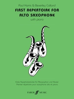 FIRST REPERTOIRE ALTO SAX/PIANO