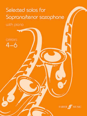 SELECTED SOLOS FOR TENOR SAX GR 4-6