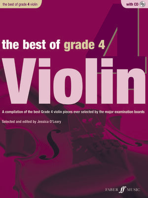 BEST OF GRADE 4 VIOLIN BK/CD