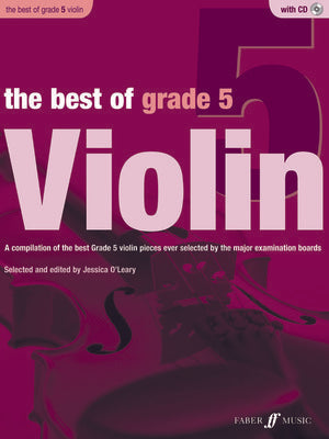 BEST OF GRADE 5 VIOLIN BK/CD